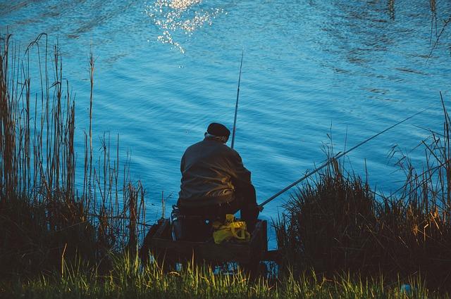 Rybařit na řece, nebo na rybníku?
