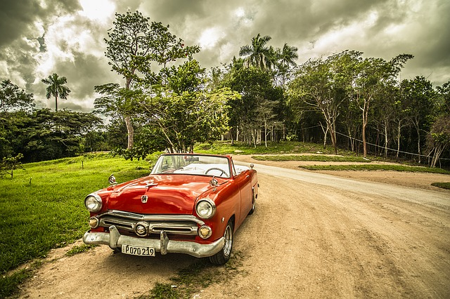 kubánský kabriolet